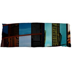 Glass Facade Colorful Architecture Body Pillow Case (dakimakura)