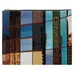 Glass Facade Colorful Architecture Cosmetic Bag (xxxl)