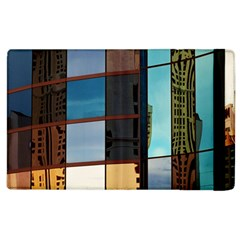 Glass Facade Colorful Architecture Apple Ipad 2 Flip Case