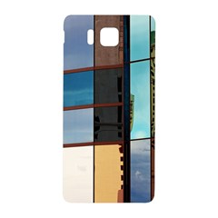 Glass Facade Colorful Architecture Samsung Galaxy Alpha Hardshell Back Case