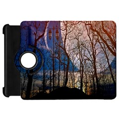 Full Moon Forest Night Darkness Kindle Fire Hd 7  by Nexatart