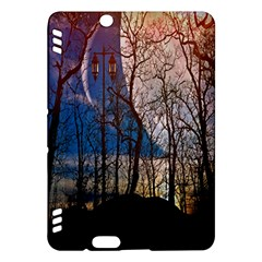 Full Moon Forest Night Darkness Kindle Fire Hdx Hardshell Case by Nexatart