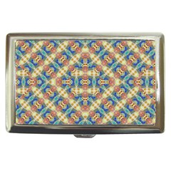 Modern Geometric Intricate Pattern Cigarette Money Cases by dflcprints