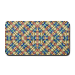 Modern Geometric Intricate Pattern Medium Bar Mats by dflcprints