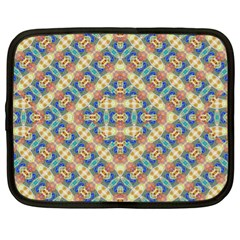 Modern Geometric Intricate Pattern Netbook Case (xl)  by dflcprints