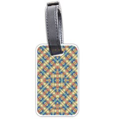 Modern Geometric Intricate Pattern Luggage Tags (one Side)  by dflcprints