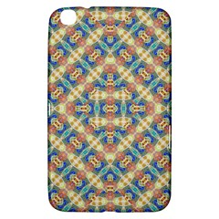 Modern Geometric Intricate Pattern Samsung Galaxy Tab 3 (8 ) T3100 Hardshell Case  by dflcprints