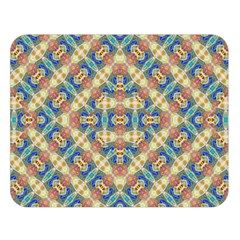 Modern Geometric Intricate Pattern Double Sided Flano Blanket (large)  by dflcprints