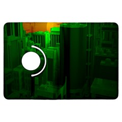 Green Building City Night Kindle Fire Hdx Flip 360 Case