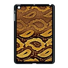 Golden Patterned Paper Apple Ipad Mini Case (black)