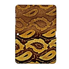 Golden Patterned Paper Samsung Galaxy Tab 2 (10 1 ) P5100 Hardshell Case
