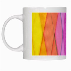 Graphics Colorful Color Wallpaper White Mugs by Nexatart