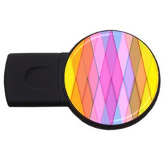 Graphics Colorful Color Wallpaper Usb Flash Drive Round (2 Gb) by Nexatart