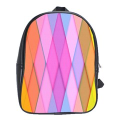 Graphics Colorful Color Wallpaper School Bags(large)