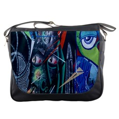 Graffiti Art Urban Design Paint Messenger Bags