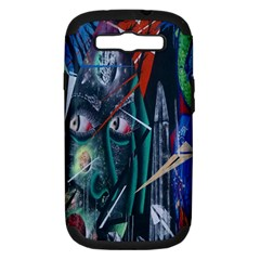 Graffiti Art Urban Design Paint Samsung Galaxy S Iii Hardshell Case (pc+silicone)