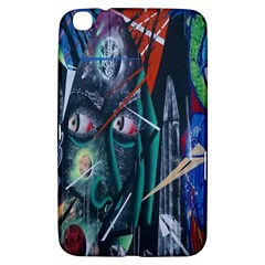 Graffiti Art Urban Design Paint Samsung Galaxy Tab 3 (8 ) T3100 Hardshell Case