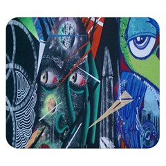 Graffiti Art Urban Design Paint Double Sided Flano Blanket (small)  by Nexatart