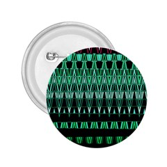 Green Triangle Patterns 2 25  Buttons