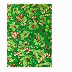 Green Holly Large Garden Flag (two Sides)