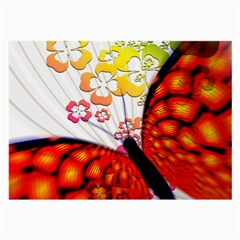 Greeting Card Butterfly Kringel Large Glasses Cloth (2 Side)