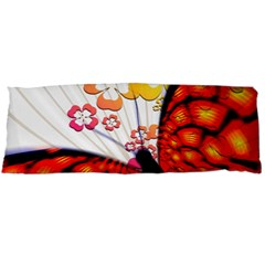 Greeting Card Butterfly Kringel Body Pillow Case (dakimakura)