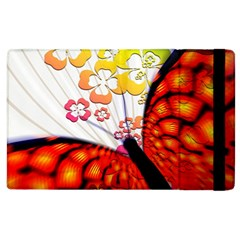 Greeting Card Butterfly Kringel Apple Ipad 2 Flip Case