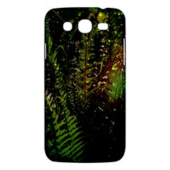 Green Leaves Psychedelic Paint Samsung Galaxy Mega 5 8 I9152 Hardshell Case