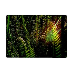 Green Leaves Psychedelic Paint Ipad Mini 2 Flip Cases