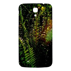 Green Leaves Psychedelic Paint Samsung Galaxy Mega I9200 Hardshell Back Case by Nexatart