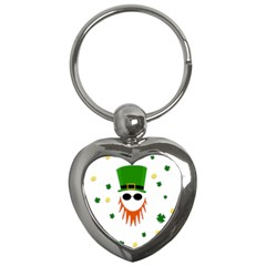 St  Patrick s Day Key Chains (heart)  by Valentinaart