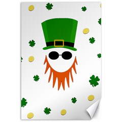 St  Patrick s Day Canvas 12  X 18   by Valentinaart