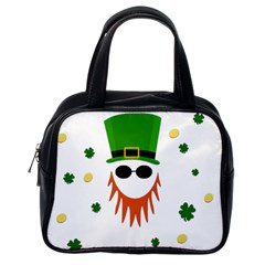 St  Patrick s Day Classic Handbags (one Side) by Valentinaart