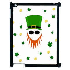 St  Patrick s Day Apple Ipad 2 Case (black) by Valentinaart