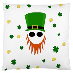 St  Patrick s Day Standard Flano Cushion Case (one Side) by Valentinaart