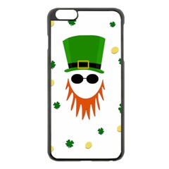 St  Patrick s Day Apple Iphone 6 Plus/6s Plus Black Enamel Case by Valentinaart