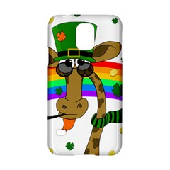 Irish Giraffe Samsung Galaxy S5 Hardshell Case  by Valentinaart