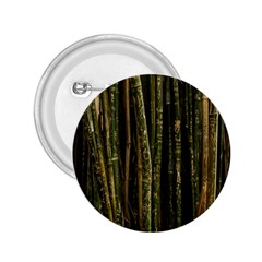 Green And Brown Bamboo Trees 2 25  Buttons