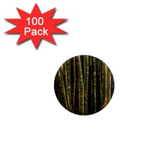 Green And Brown Bamboo Trees 1  Mini Magnets (100 Pack)