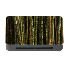 Green And Brown Bamboo Trees Memory Card Reader With Cf