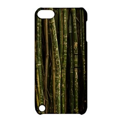 Green And Brown Bamboo Trees Apple Ipod Touch 5 Hardshell Case With Stand