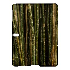Green And Brown Bamboo Trees Samsung Galaxy Tab S (10 5 ) Hardshell Case  by Nexatart