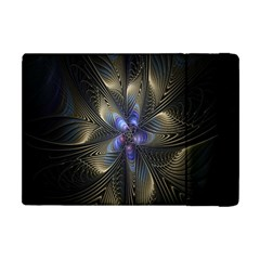 Fractal Blue Abstract Fractal Art Apple Ipad Mini Flip Case