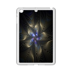 Fractal Blue Abstract Fractal Art Ipad Mini 2 Enamel Coated Cases by Nexatart