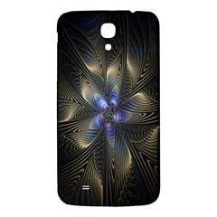 Fractal Blue Abstract Fractal Art Samsung Galaxy Mega I9200 Hardshell Back Case by Nexatart