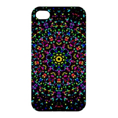 Fractal Texture Apple Iphone 4/4s Hardshell Case