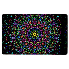 Fractal Texture Apple Ipad 2 Flip Case