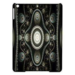 Fractal Beige Blue Abstract Ipad Air Hardshell Cases