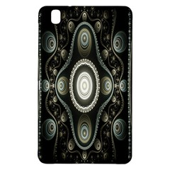 Fractal Beige Blue Abstract Samsung Galaxy Tab Pro 8 4 Hardshell Case by Nexatart