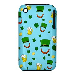 St  Patrick s Day Pattern Iphone 3s/3gs by Valentinaart